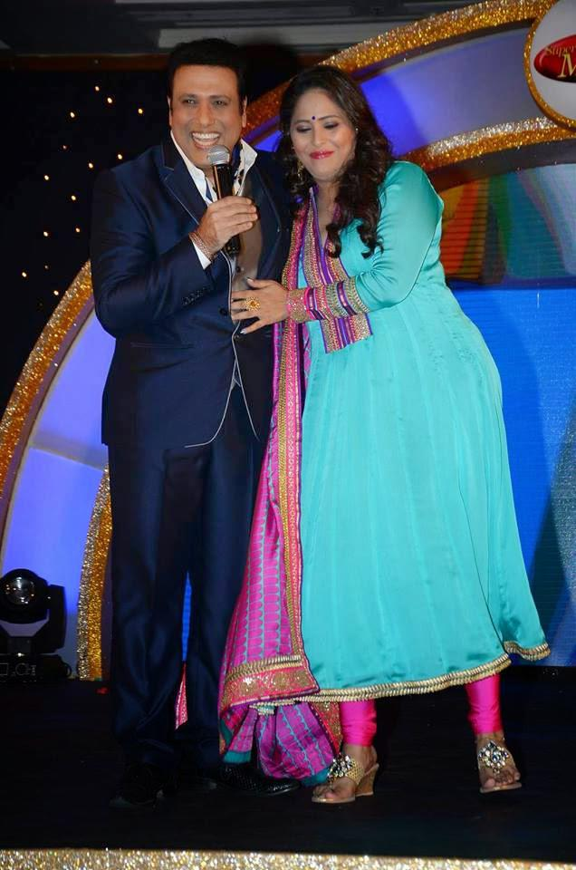 Govinda And Geeta Kapoor Cool Look At Dance India Dance Super Moms Launch