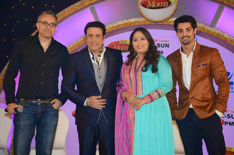 Govinda,Geeta Kapoor And Karan Wahi Launched The Dance India Dance Super Moms