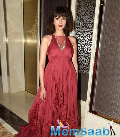 Aditi Rao Hydari Snapped At LFW Summer Resort Opening Day