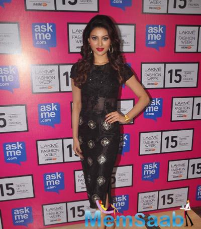 Urvashi Rautela At The Opening Night Of LFW 2015