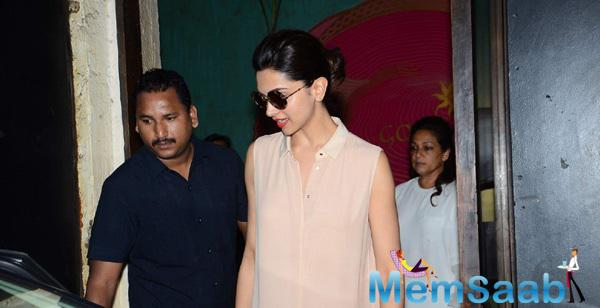 Deepika Padukone Clicked At Gauri Khan's Store