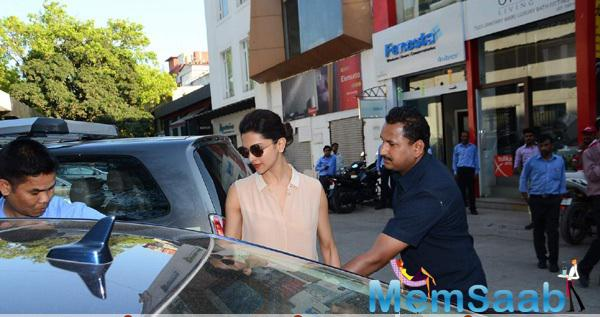Deepika Padukone Return From Gauri Khan's Interior Design Store