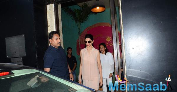 Deepika Paid A Visit To Gauri Khan's Interior Design Store 'The Design Cell' In Mumbai