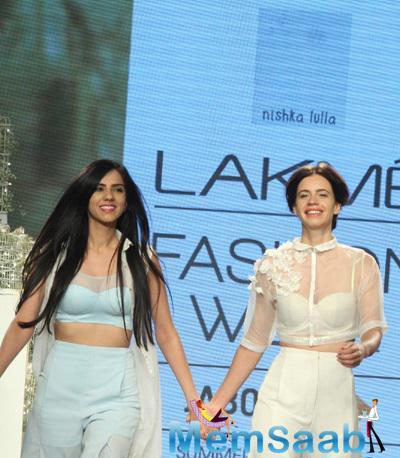 Kalki Koechlin Walked The Ramp For Nishka Lulla In This Delicate White Dress