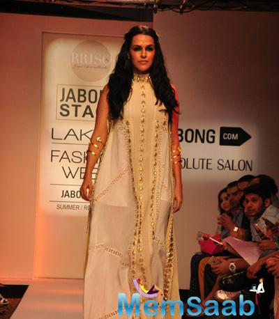 Neha Dhupia Was The Showstopper For Sonu Dharnidharka's Show