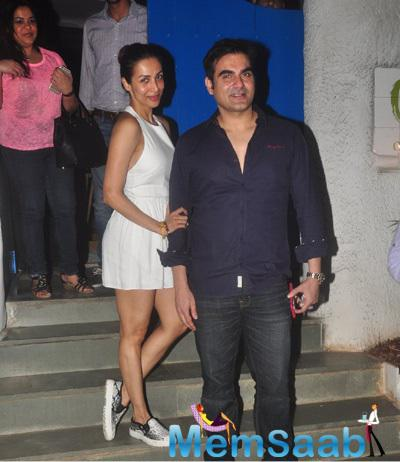 Malaika And Arbaaz Khan On A Dinner Date At Olive Restaurant