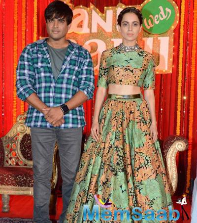 Kangana Ranuat And R. Madhavan Back With Tanu Weds Manu Returns