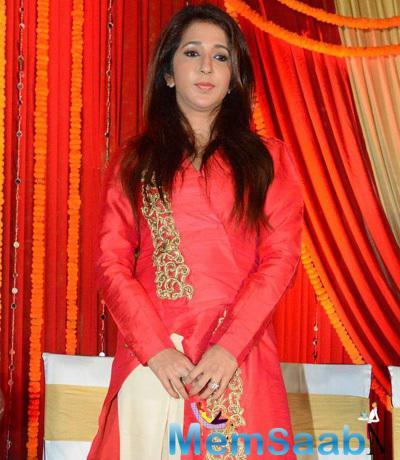 Krishika Lulla Attended The Poster Launch Of Tanu Weds Manu Returns