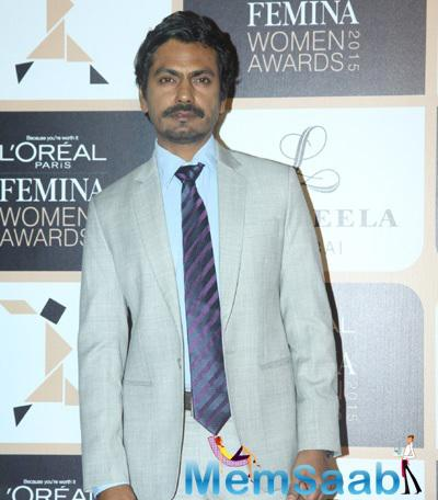 Nawazuddin Siddiqui Attended The L'Oreal Paris Femina Women Awards 2015