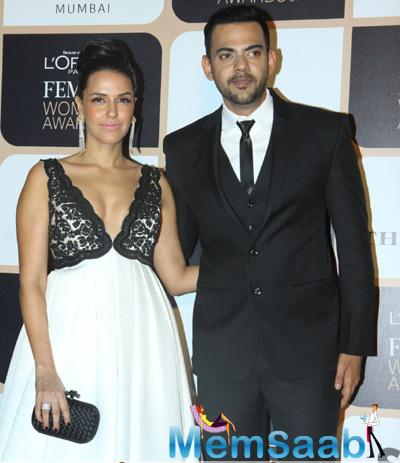 Neha Dhupia Attended The L'Oreal Paris Femina Women Awards 2015