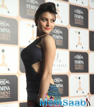 Urvashi Rautela Attended The L'Oreal Paris Femina Women Awards 2015