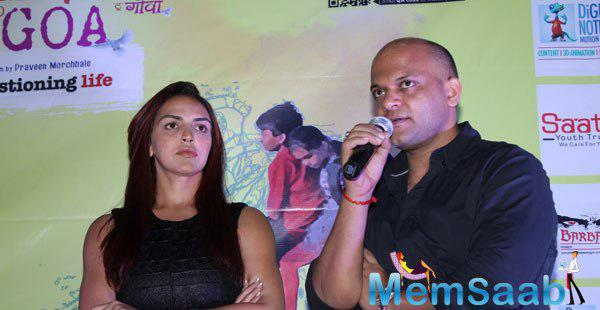 Esha Deol In Press Meet During The Trailer Launch Of Barefoot To Goa