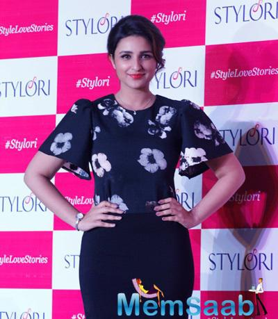 Parineeti Shows Off Her New Slim Avatar At Stylori Online Jewellery Store Launch