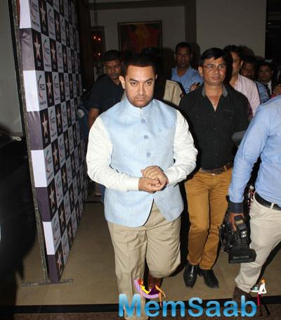 Aamir Khan Attended The Inaugural Session Of FICCI FRAMES 2015