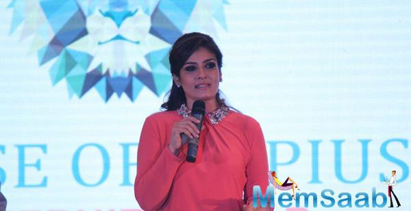 Raveena Spoke About The Product And Stressed Upon Its Comfort And Safety