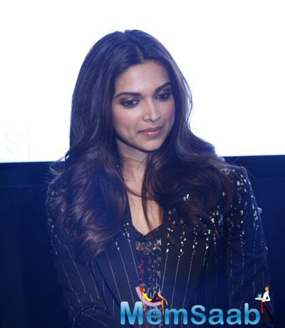 Deepika Padukone Attractive Look During The Launch Of Short Film My Choice