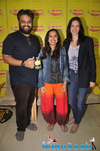 Kalki Koechlin Promoted Her Upcoming Film 'Margarita With A Straw' At Radio Mirchi 98.3FM Studios