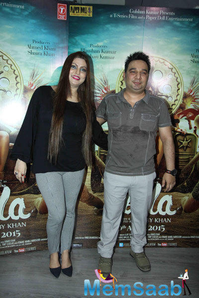 Ahmed Khan And Bobby Khan Graces At The Press Meet Of Ek Paheli Leela