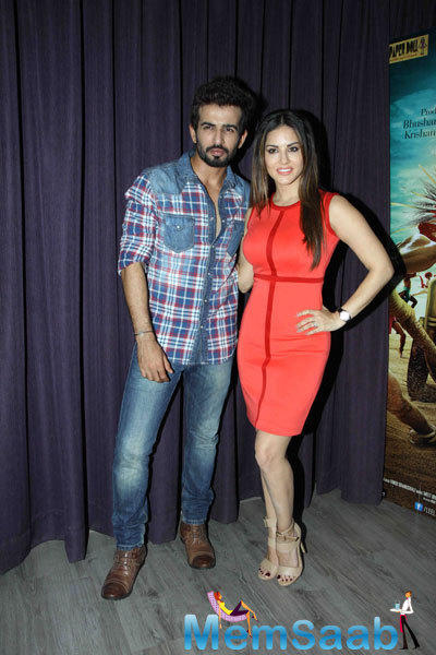 Sunny Leone And Jay Bhanushali Promote 'Ek Paheli Leela' At Apress Meet