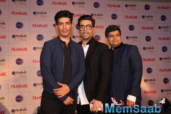 The Ciroc Filmfare Glamour And Style Awards Special Issue Was Launched By Karan Johar