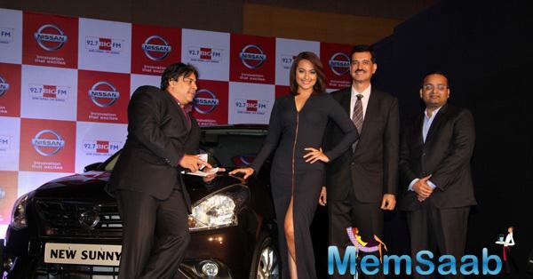 Sonakshi Sinha At Nissan Sunny Sedan-BIG FM Event