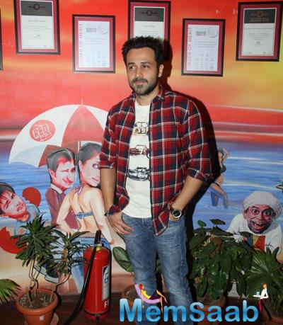 Emraan Hashmi Spotted At RED FM 93.5 For His Movie Mr X Promotion