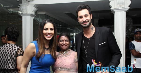 Sunny Leone With Her Husband Attended Mahi's Birthday Bash Surprised By Jay