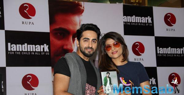 Actor Ayushmann Khurrana Launched His Book 'Cracking The Code' With His Wife Tahira Kashyap