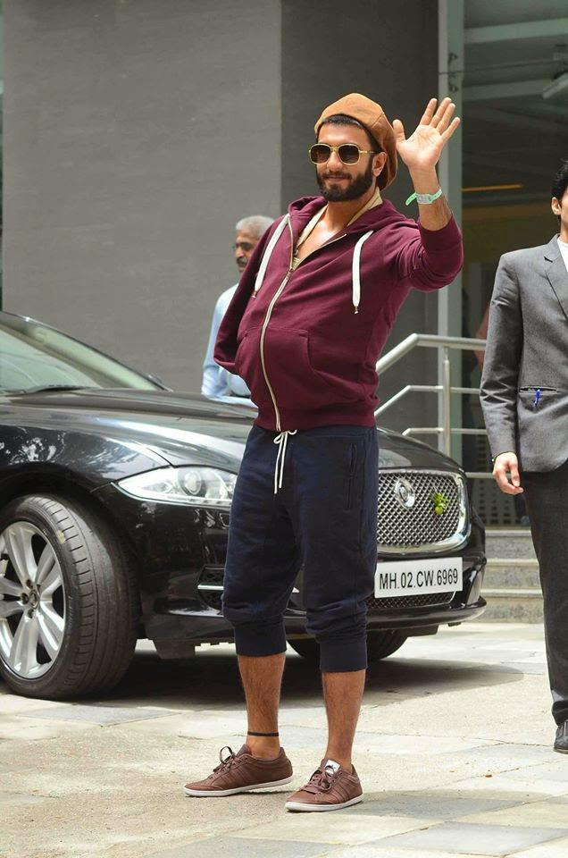 Ranveer Singh Spotted While He Discharged From Hospital After His Shoulder Surgery