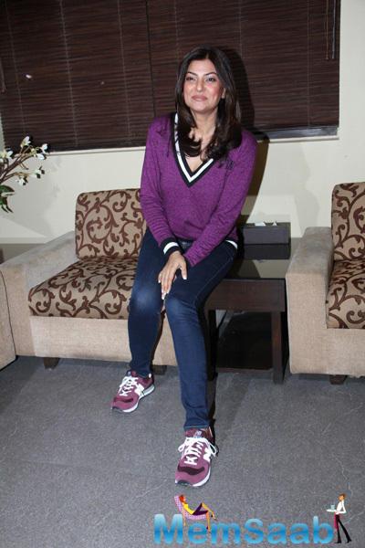 Sushmita Sen Attend The Launch Of Soapbox And Makeover Salon