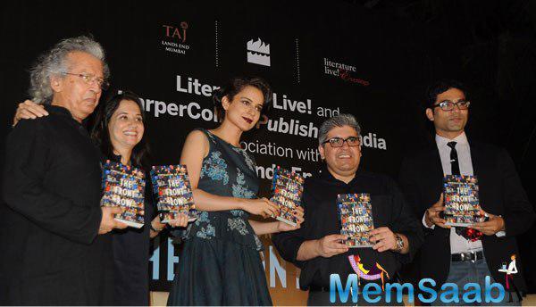 Anupama Chopra,Kangana Ranaut And Others Launched Anupama Chopra Book The Front Row