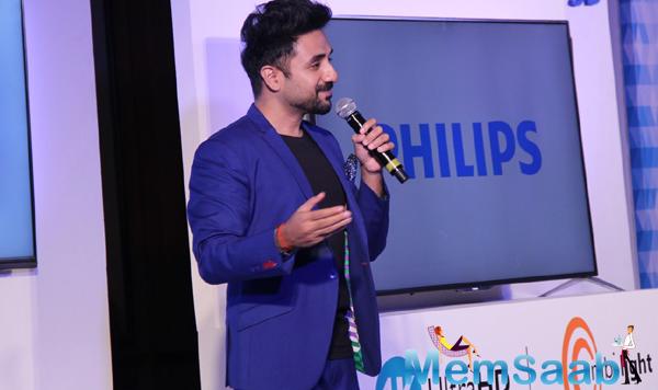 Vir Das Spoke Few Words In Bandra At Philips Event