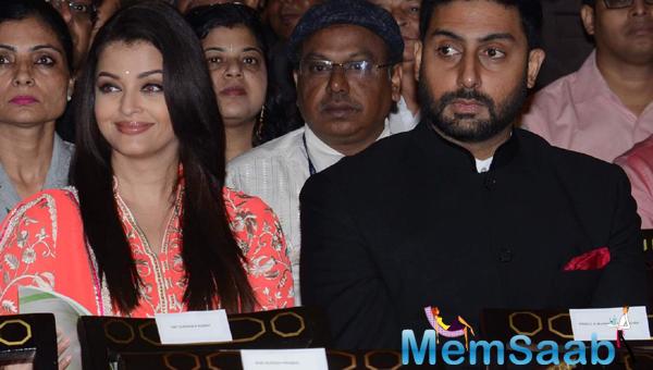 Abhishek And Aishwarya Were Present To Witness The Occasion