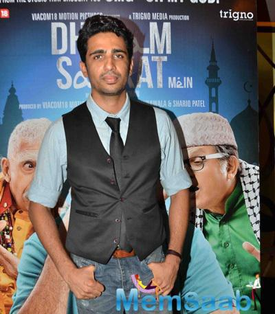 Gulshan Devaiah Presented At The Premiere Of Film Dharam Sankat Mein