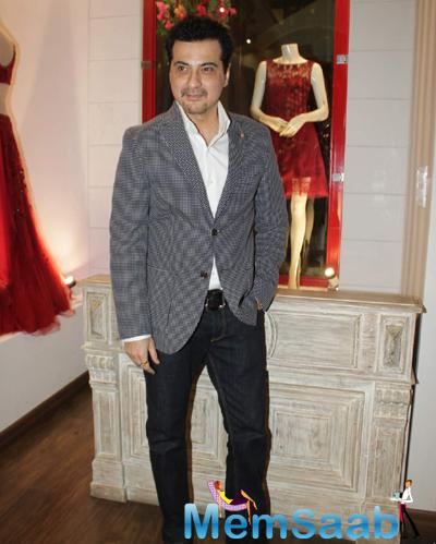 Sanjay Kapoor Dappers Look During The Launch Of Avinash Punjabi Store
