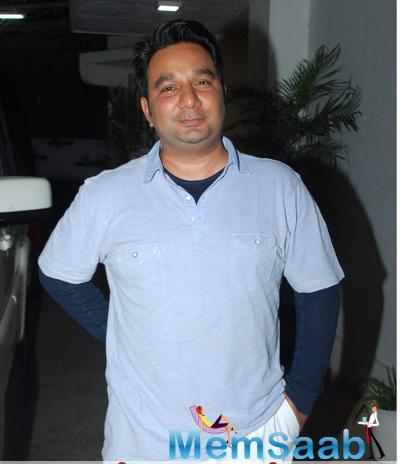 Ahmed Khan Spotted At Special Screening Of Ek Paheli Leela Held In Mumbai
