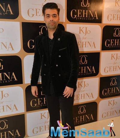 Karan Johar Unveils His Limited Edition Jewellery For Gehna