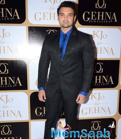 Mahaakshay Chakraborty Dappers Look During The Launch Of Karan Johar Limited Edition Holiday Line For Gehna Jewellers