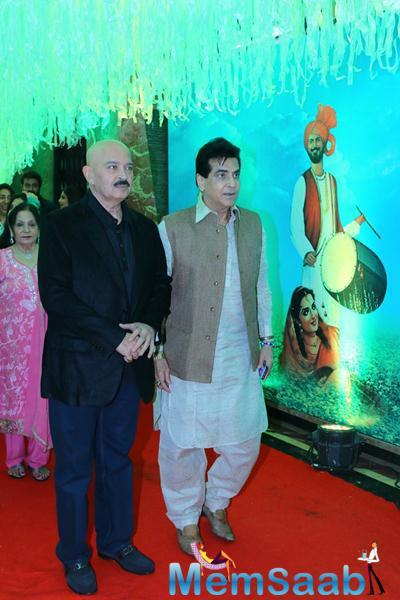 Rakesh Roshan And Jeetendra Present At Baisakhi 2015 Celebrations