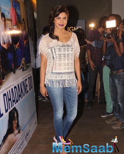 Priyanka Chopra Looks Super Stylish During The Trailer Launch Of Dil Dhadakne Do