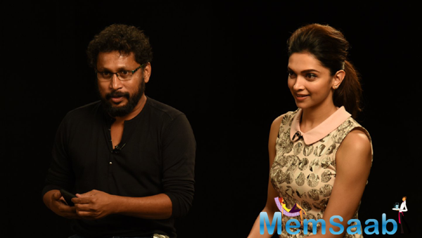 Shoojit Sircar And Deepika Padukone Discussed With Media About Piku Movie