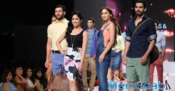 Yami Gautam At The Launch Of Marks and Spencers Spring Summer Collection