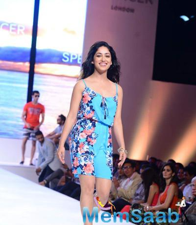 Yami Gautam With A Stunning Look On Ramp