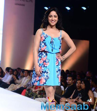Yami Gautam Walks For Marks N Spencer Spring Summer Collection