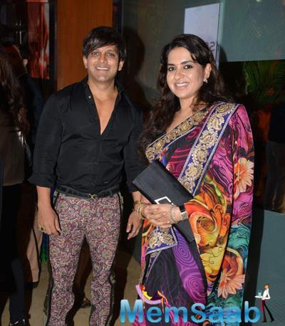 Shaina NC Attended The Lorenzo Quinn Art Debut Launch In Mumbai