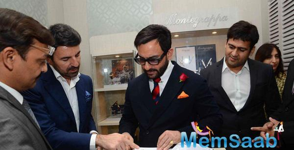 Saif Ali Khan Launched The Montegrappa Luxury Brand
