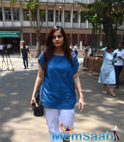 Salman Khan's Sister Alvira Agnihotri Arrives At Thesessions Court For Hearing