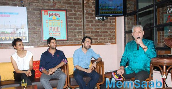 Radhika Apte And Her Team At Bombariya Film Announcement Launch Party