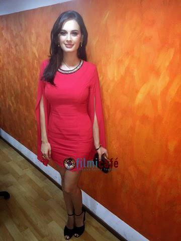 Evelyn Sharma At The Promotional Event For Kuch Kuch Locha Hai