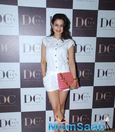 Ameesha Patel Attends A Store Launch Of Luxury Comfort Mattress